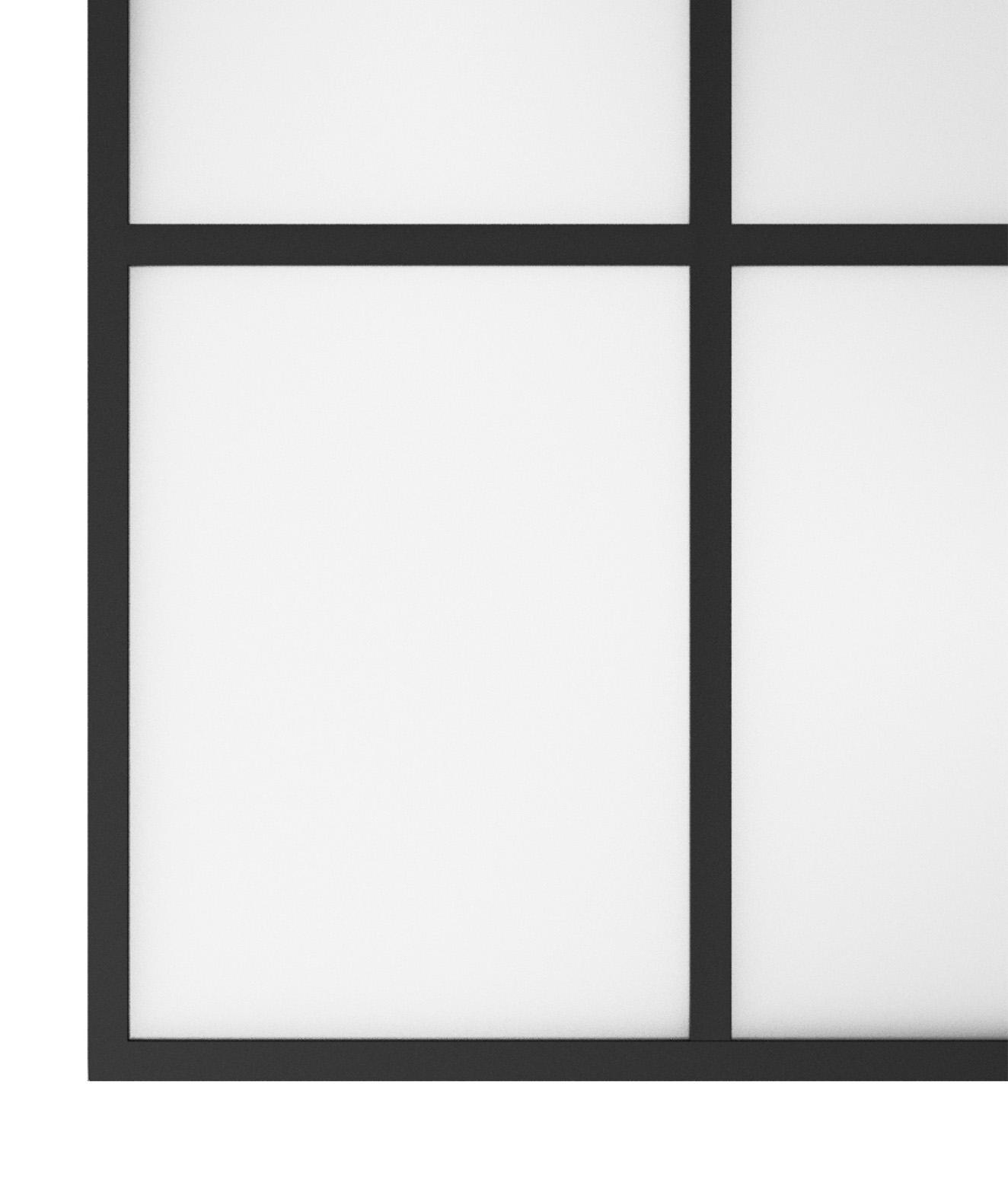New Yorker væg jern og glas
